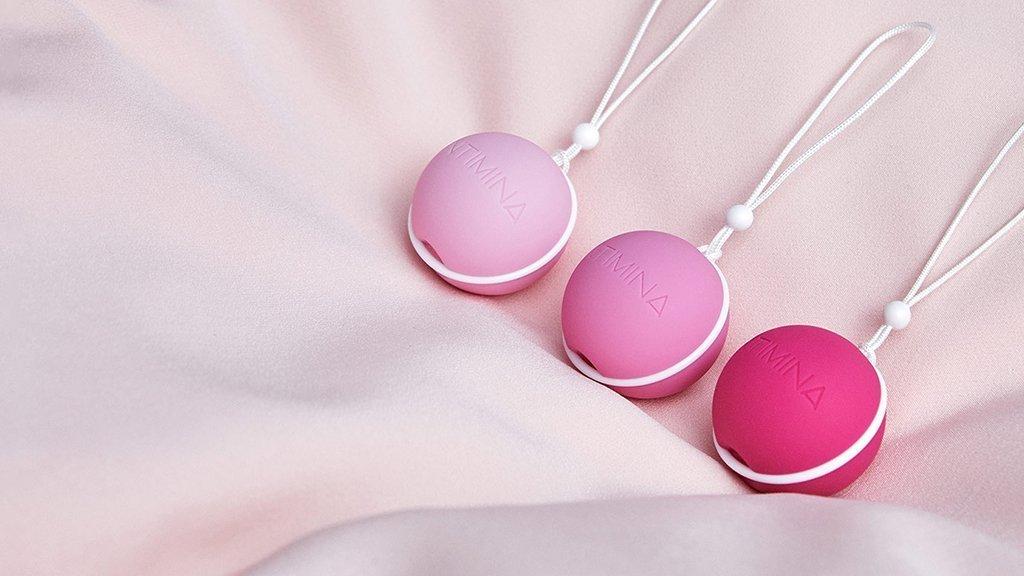 Keglove kroglice Laselle™ za krepitev medeničnega dna| Kunapipi