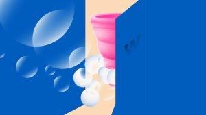 Čiščenje menstrualne skodelice na javnem stranišču