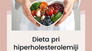 Dieta pri povišanem LDL holesterolu